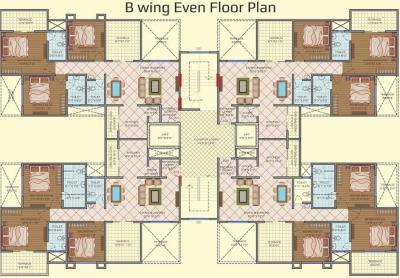 साई रॉयल विंग बी में खरीदने के लिए 842.0 - 1243.0 Sq.ft 3 BHK अपार्टमेंट प्रोजेक्ट  की तस्वीर