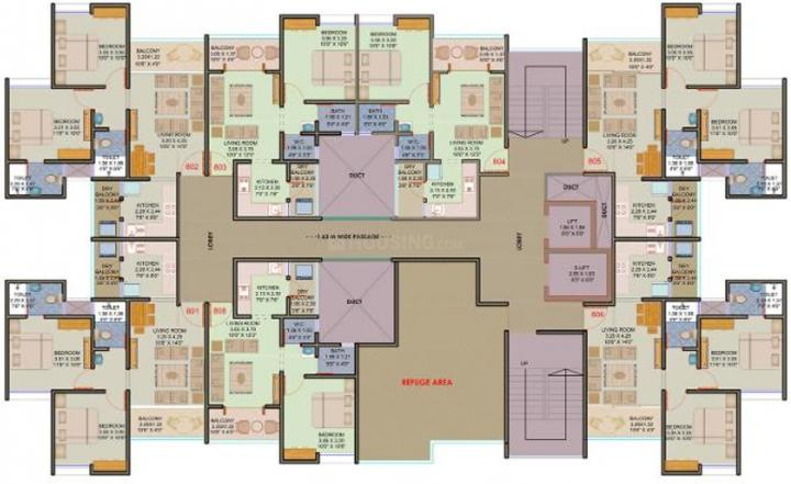 Project Image of 368.02 - 548.21 Sq.ft 1 BHK Apartment for buy in Majestique Mrugavarsha Phase I