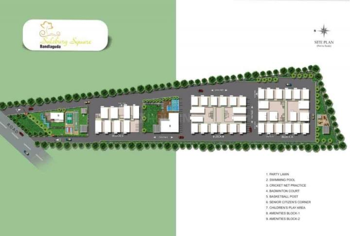 Project Image of 1020 - 1339 Sq.ft 2 BHK Apartment for buy in Jain Salzburg
