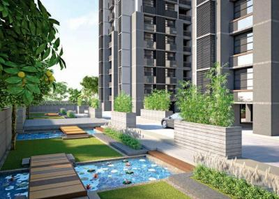 Gallery Cover Image of 1665 Sq.ft 3 BHK Apartment for rent in Thaltej for 55000
