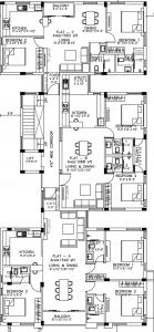 Project Image of 1065.0 - 1540.0 Sq.ft 2 BHK Apartment for buy in Rahul Shanthi Nilayam