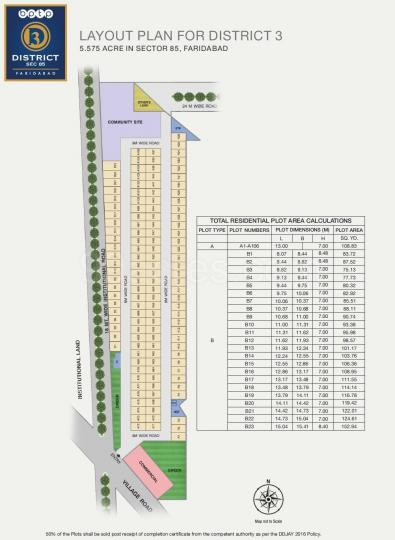 Project Image of 899.97 - 1619.97 Sq.ft Residential Plot Plot for buy in BPTP District 3