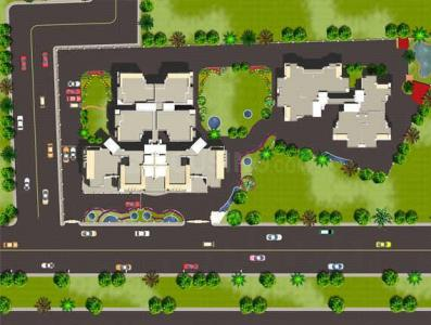 Gallery Cover Image of 1200 Sq.ft 2 BHK Apartment for buy in Supertech Icon, Nyay Khand for 5800000