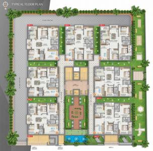 Project Image of 1560 - 1945 Sq.ft 3 BHK Apartment for buy in Sanvi Meadows