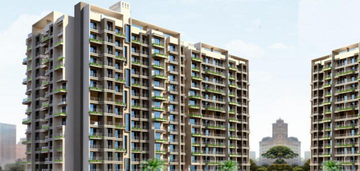 Project Image of 340.14 - 555.2 Sq.ft 1 BHK Apartment for buy in Kalash Kumkum Darshan