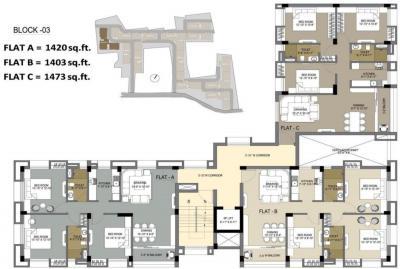 वैदिक संजीवा कोलश्री में खरीदने के लिए 1214.0 - 1517.0 Sq.ft 2 BHK अपार्टमेंट प्रोजेक्ट  की तस्वीर