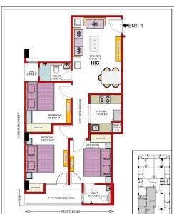 Project Image of 500 - 1500 Sq.ft 1 BHK Independent Floor for buy in Nivesh Homes-4