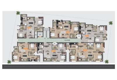 Project Image of 819.0 - 1200.0 Sq.ft 2 BHK Apartment for buy in GP GP Homes Fern Breeze