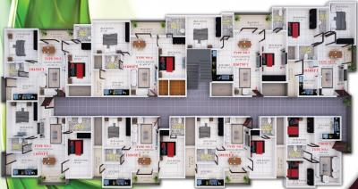 Project Image of 750 - 1167 Sq.ft 2 BHK Apartment for buy in Sai Luxus Serenity