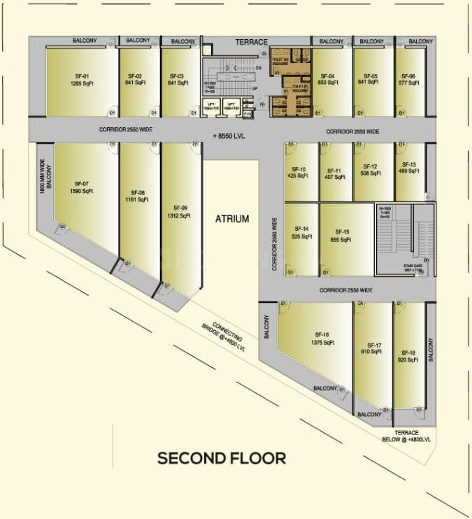 Project Image of 500.0 - 25000.0 Sq.ft Shop Shop for buy in ROF Portico