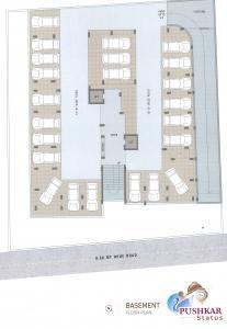 Project Image of 752.29 - 885.76 Sq.ft 3 BHK Apartment for buy in Shugan Pushkar Status