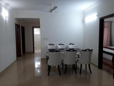 Gallery Cover Image of 1250 Sq.ft 2 BHK Apartment for rent in New India Tanzanite, Agrahara Layout for 19000