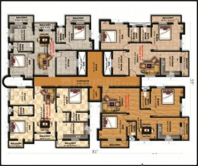Project Image of 530.0 - 1200.0 Sq.ft 1 BHK Apartment for buy in Yume Homes KNR Abirami Webster Village