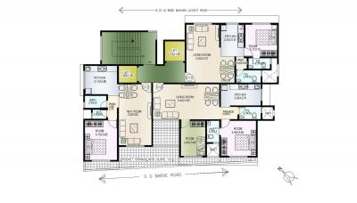 Project Image of 318.0 - 360.0 Sq.ft 1 BHK Apartment for buy in Baba Homes Builders Ekta Co Op HSG Society