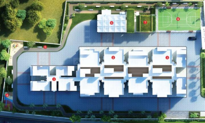 Project Image of 699.55 - 729.38 Sq.ft 2 BHK Apartment for buy in Gowri Citrus Aire