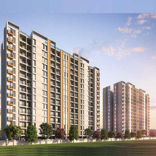 Project Image of 438.0 - 717.0 Sq.ft 1 BHK Apartment for buy in Majestique Rhythm County Phase 1