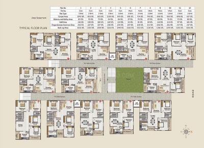 Project Image of 546.0 - 1535.0 Sq.ft 1 BHK Apartment for buy in Sumukhesh Heights