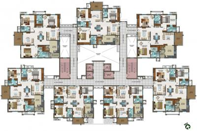 Project Image of 1820 - 2406 Sq.ft 3 BHK Apartment for buy in Aparna Aura