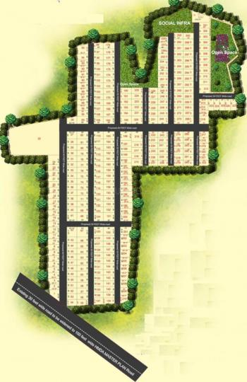 Project Image of 1500.03 - 2780.01 Sq.ft Residential Plot Plot for buy in Peram Signature Park