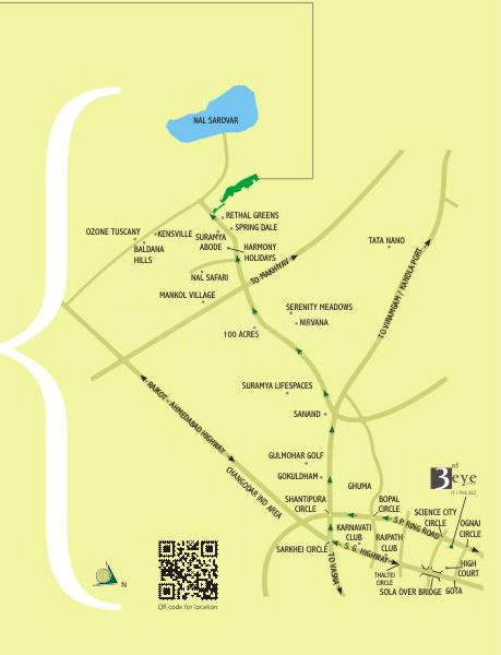 Project Image of 4500.0 - 9000.0 Sq.ft Residential Plot Plot for buy in Calica 3rd Eye Greens One