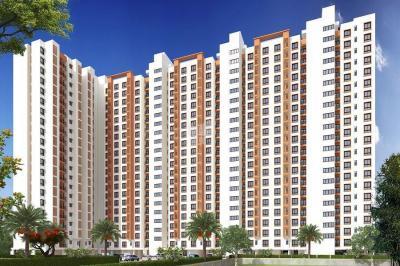 Gallery Cover Image of 416 Sq.ft 1 BHK Apartment for rent in VBHC Palmhaven II Block C, Venkatapura for 8500