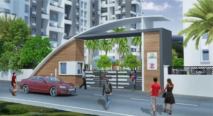 Project Image of 728.94 - 826.78 Sq.ft 2 BHK Apartment for buy in Sancheti Mount Castle A