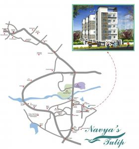 Project Image of 936.0 - 1206.0 Sq.ft 2 BHK Apartment for buy in SS Navya Tulip