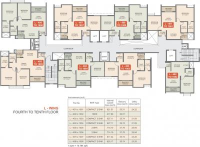 Gallery Cover Image of 1380 Sq.ft 3 BHK Apartment for buy in Rohan Upavan Phase 1, Byrathi for 8500000