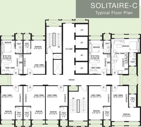 Project Image of 238 - 283 Sq.ft Studio Studio Apartment for buy in Hiranandani Solitaire C