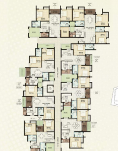 Project Image of 227.0 - 358.0 Sq.ft 1 RK Apartment for buy in Apex Aura