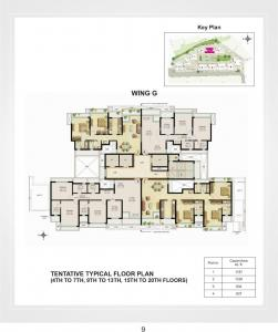 Gallery Cover Image of 1250 Sq.ft 2 BHK Apartment for buy in Raheja Vistas, Powai for 30500000