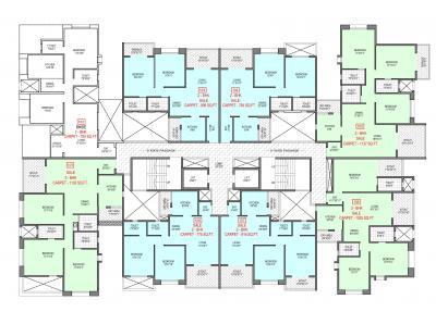बढेकर केशर में खरीदने के लिए 586.0 - 1387.0 Sq.ft 1 BHK अपार्टमेंट प्रोजेक्ट  की तस्वीर