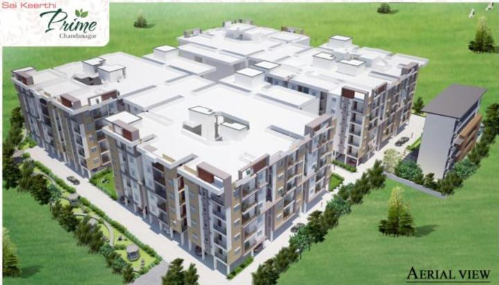 Project Image of 1120 - 1400 Sq.ft 2 BHK Apartment for buy in Sai Jyothi Keerthi Prime