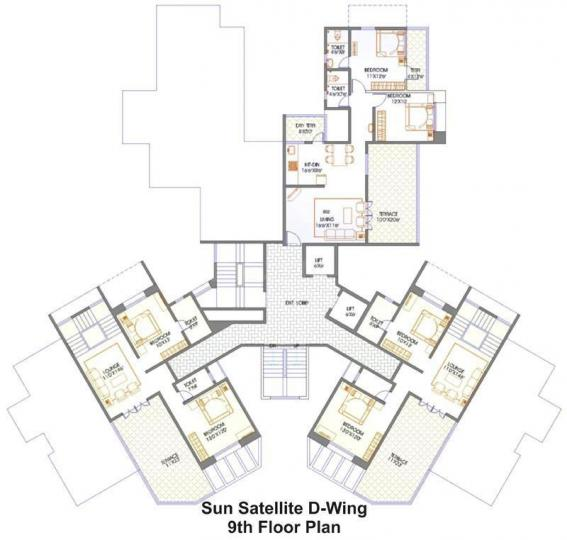 Project Image of 1190 - 1505 Sq.ft 2 BHK Apartment for buy in Mittal Sun Satellite