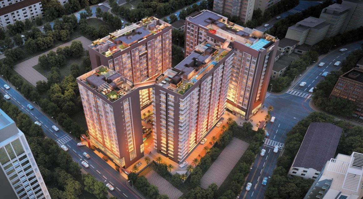 Project Image of 665.0 - 900.0 Sq.ft 2 BHK Apartment for buy in Platinum Life