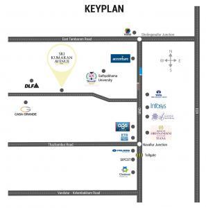 Project Image of 700 - 1147 Sq.ft Residential Plot Plot for buy in Vantage Sri Kumaran Avenue