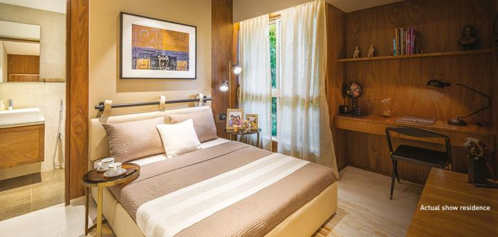 Project Image of 356.0 - 616.0 Sq.ft 1 BHK Apartment for buy in Lodha Upper Thane Woodlands C And D