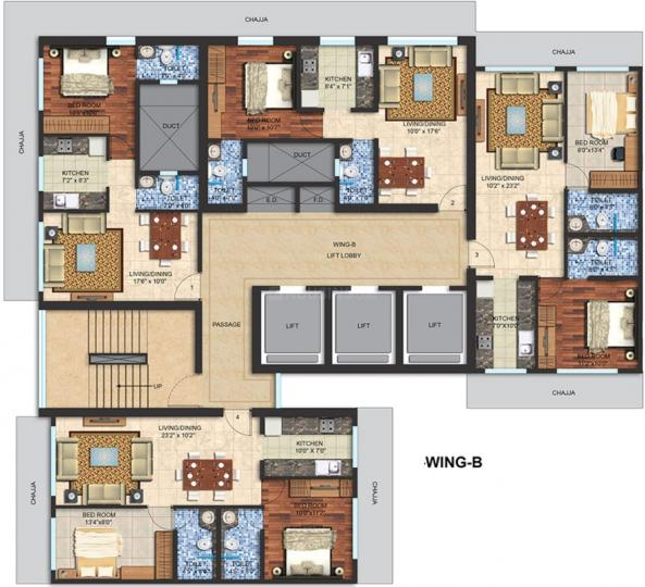 Project Image of 436.0 - 962.0 Sq.ft 1 BHK Apartment for buy in Spenta Enclave Altavista Phase 1