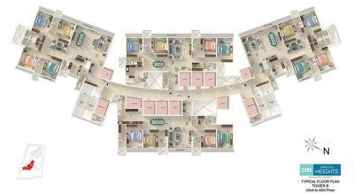 डीबी वन महालक्ष्मी फेज 2 में खरीदने के लिए 2080.0 - 2330.0 Sq.ft 4 BHK अपार्टमेंट प्रोजेक्ट  की तस्वीर