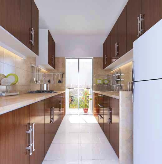 Project Image of 610.0 - 820.0 Sq.ft 1 BHK Apartment for buy in Ecohomes Greens
