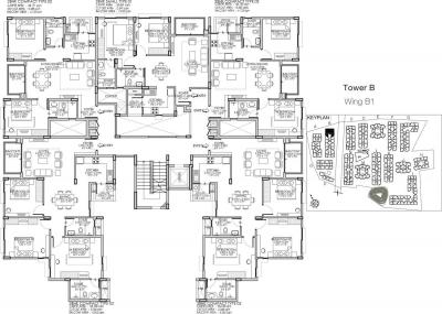 Project Image of 712.0 - 1938.0 Sq.ft 1 BHK Apartment for buy in Godrej Life Plus