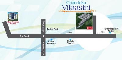 Project Image of 930.97 - 954.97 Sq.ft 3 BHK Apartment for buy in Raki Chandrika Vilaasini Mohana