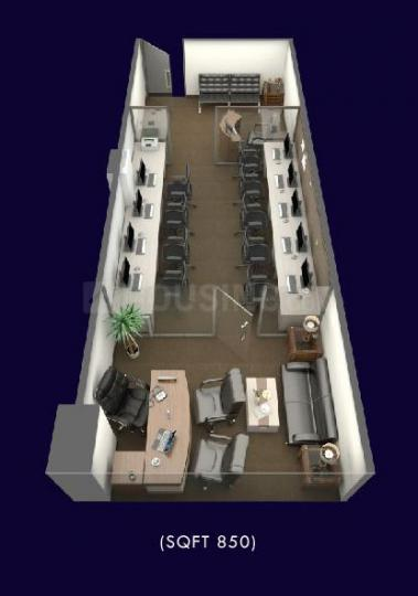 Project Image of 532.0 - 1640.0 Sq.ft Studio Apartment for buy in Alphathum