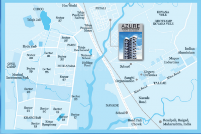 Project Image of 382.55 - 420.55 Sq.ft 2 BHK Apartment for buy in GHP Azure