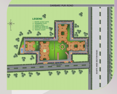 Project Image of 2400.0 - 4600.0 Sq.ft 4 BHK Apartment for buy in Tulip Tulip Ivory