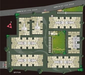 Project Image of 945 - 1962 Sq.ft 2 BHK Apartment for buy in Avalon Courtyard