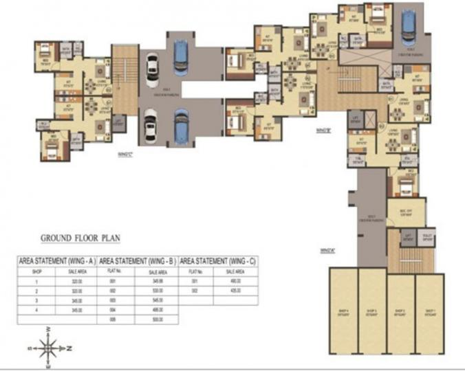 Project Image of 318.18 - 479.32 Sq.ft 1 BHK Apartment for buy in Balaji Heights