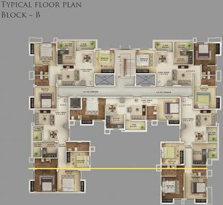 Project Image of 837 - 1147 Sq.ft 2 BHK Apartment for buy in Noble Pearl