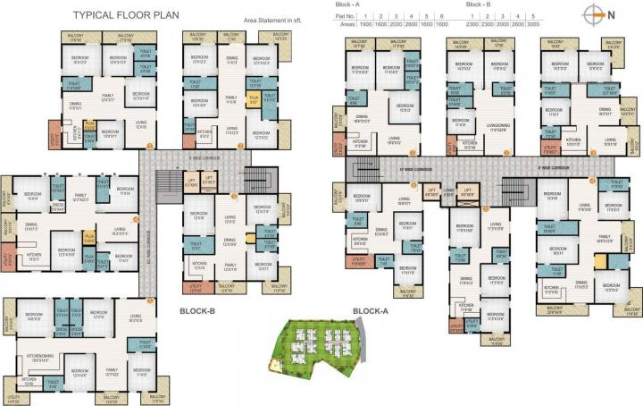 Project Image of 1600.0 - 3000.0 Sq.ft 3 BHK Apartment for buy in Niharika Interlake