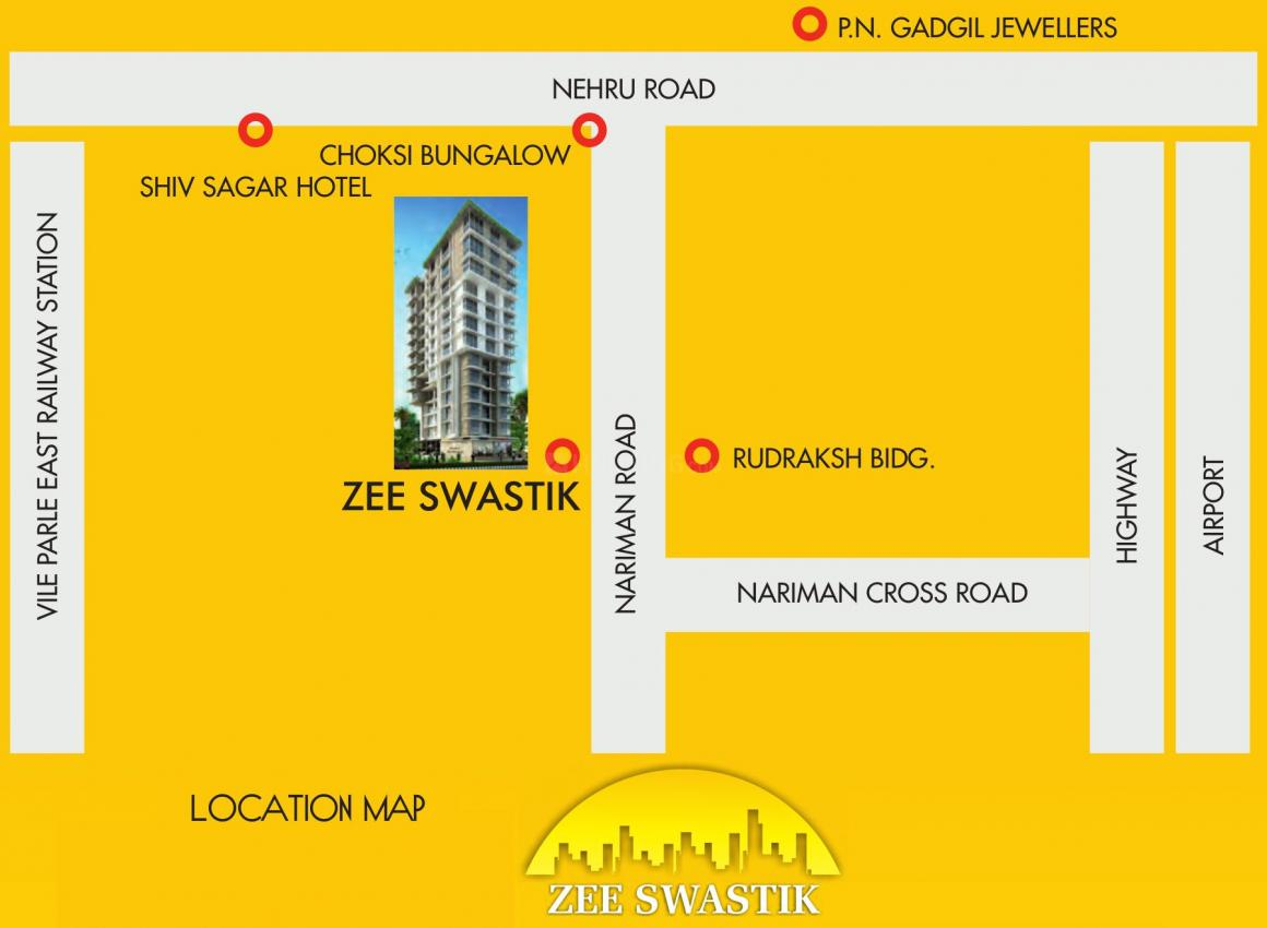Project Image of 251.01 - 1033.01 Sq.ft 1 RK Apartment for buy in Zee Swastik